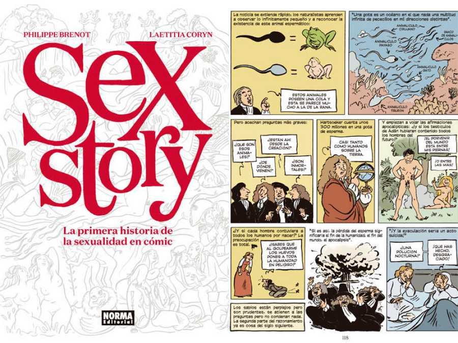 La Historia De La Sexualidad En Cómic Rtvees