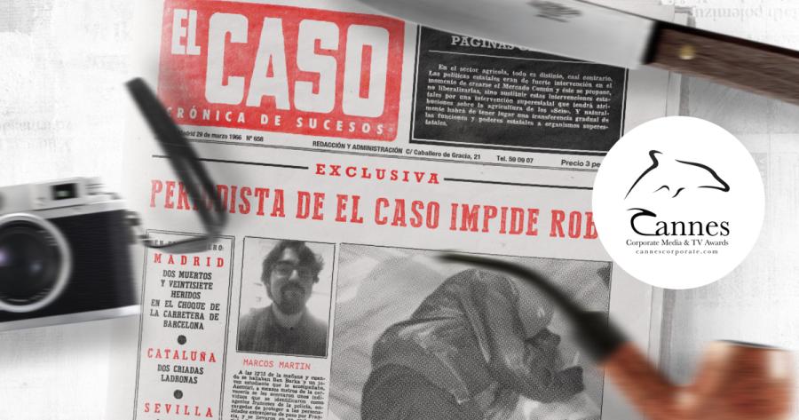 'Tu primer día en el caso', premiado en los Cannes Corporate Awards 2018