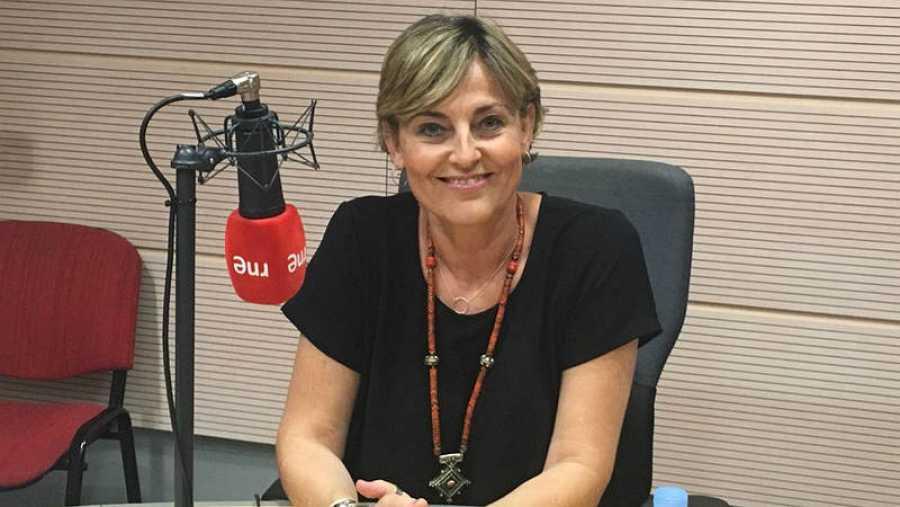 Paloma Luque, profesora de yoga.