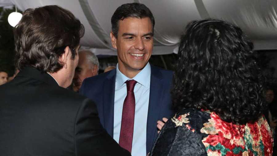 Visita de Pedro Sánchez a Colombia