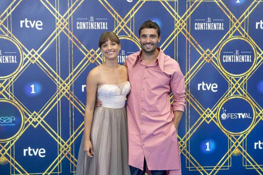 Michelle Jenner y Álex García inauguran el FesTVal 2018 con 'El Continental'