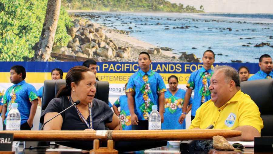 Esta semana se celebra el Foro de las Islas del Pacífico en Nauru