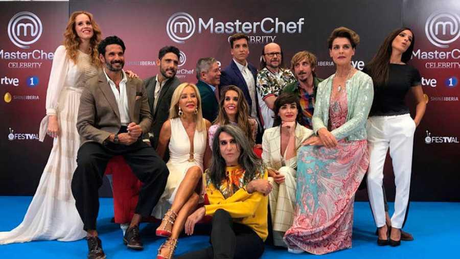 Los concursantes de 'MasterChef Celebrity 3'