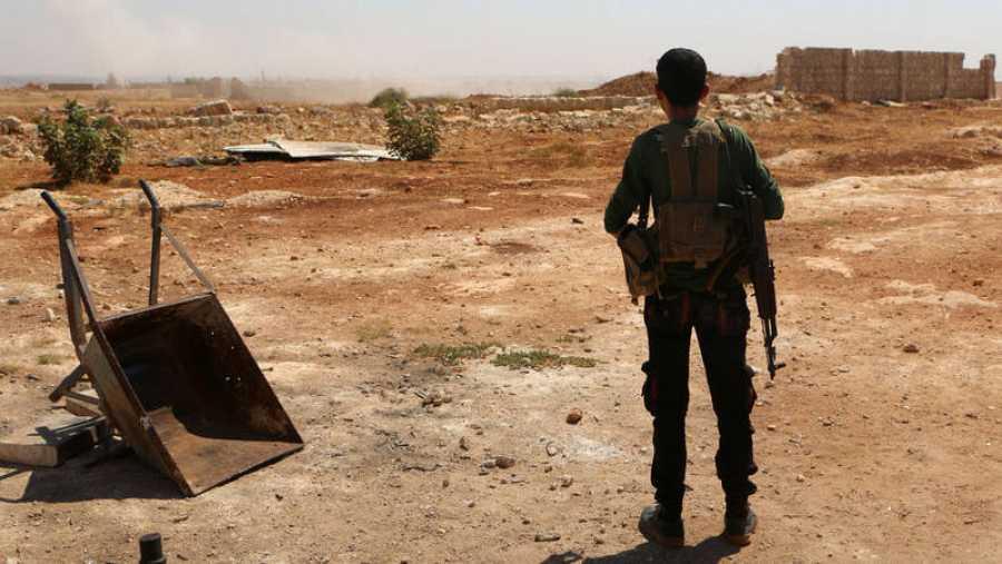 e estima que 70.000 opositores al régimen de Bachar Al Assad se encuentran en la provincia de Idlib