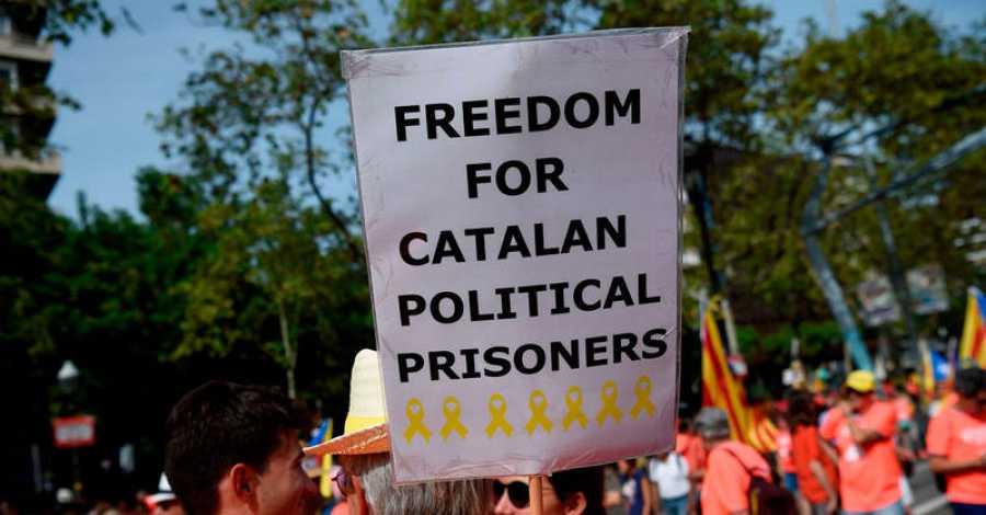 La libertad de los políticos presos, una de las principales proclamas de la Diada
