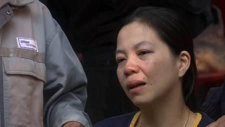 La madre de uno de los niños desaparecidos