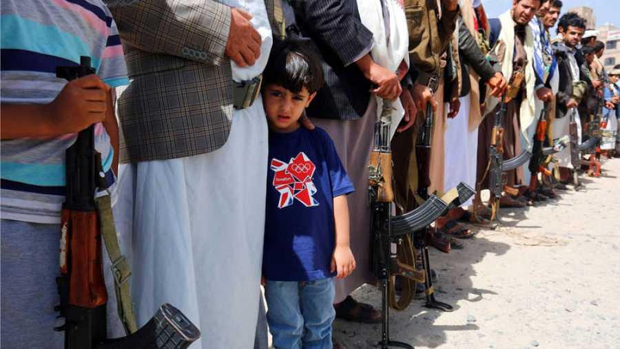 Más de cinco millones de niños yemeníes, en riesgo de hambruna