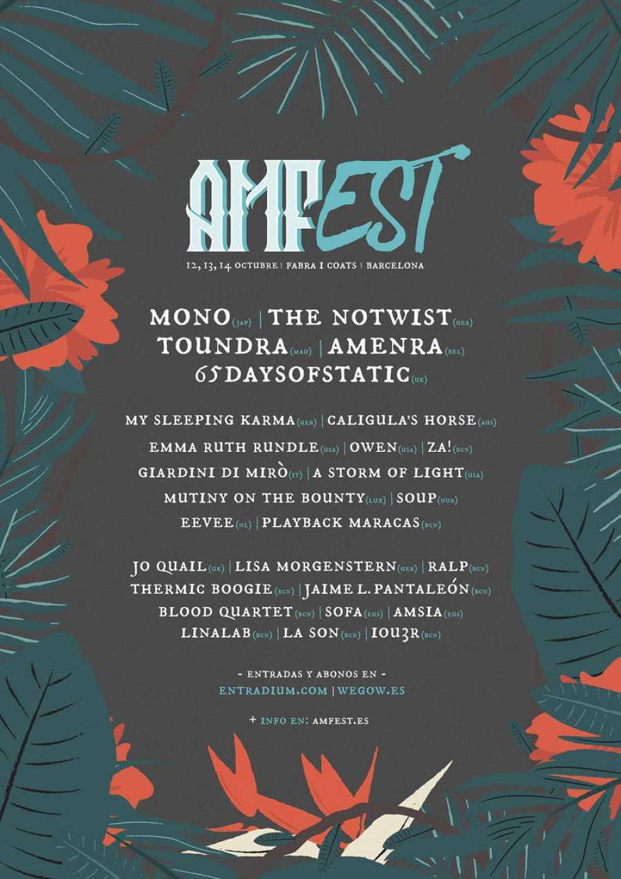 Cartel del AMFest