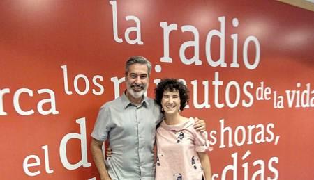 Arturo Martín con Anaïs Figueras en Rne Madrid
