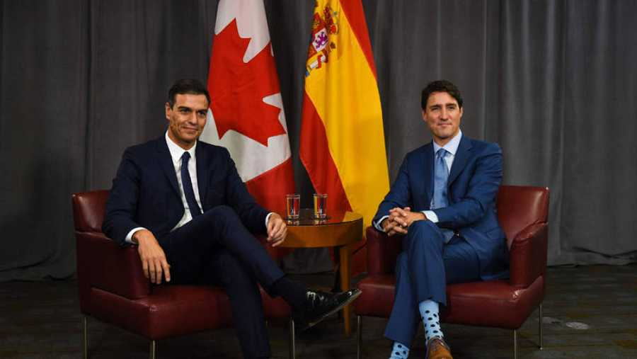 Visita oficial de Pedro Sánchez a Canadá