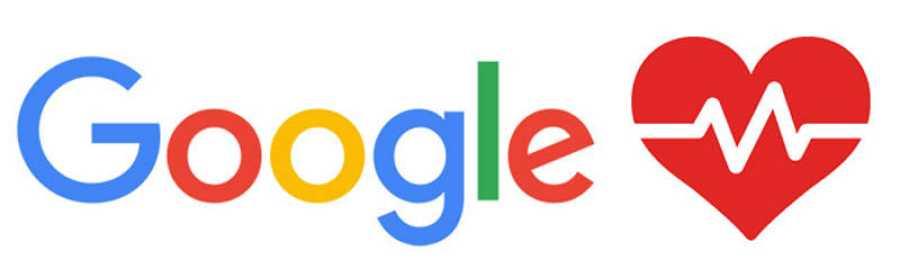 Fracasos de Google: logo de Google Health