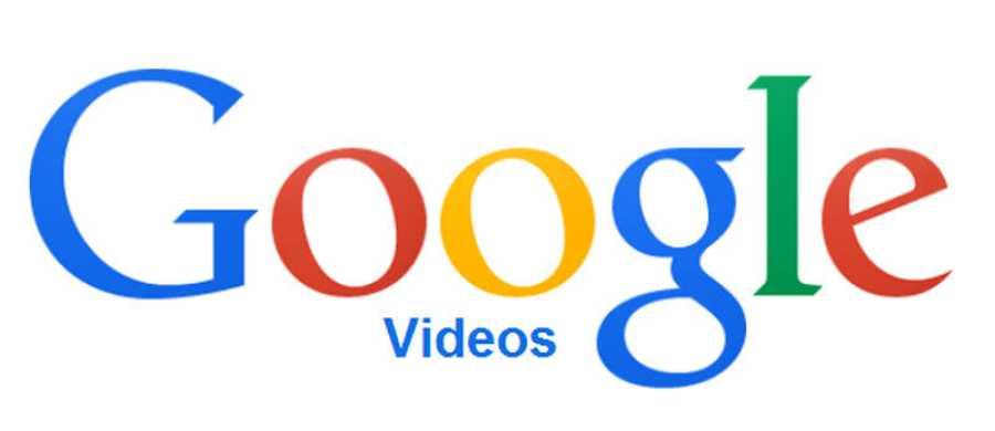 Fracasos de Google: logo de Google Video