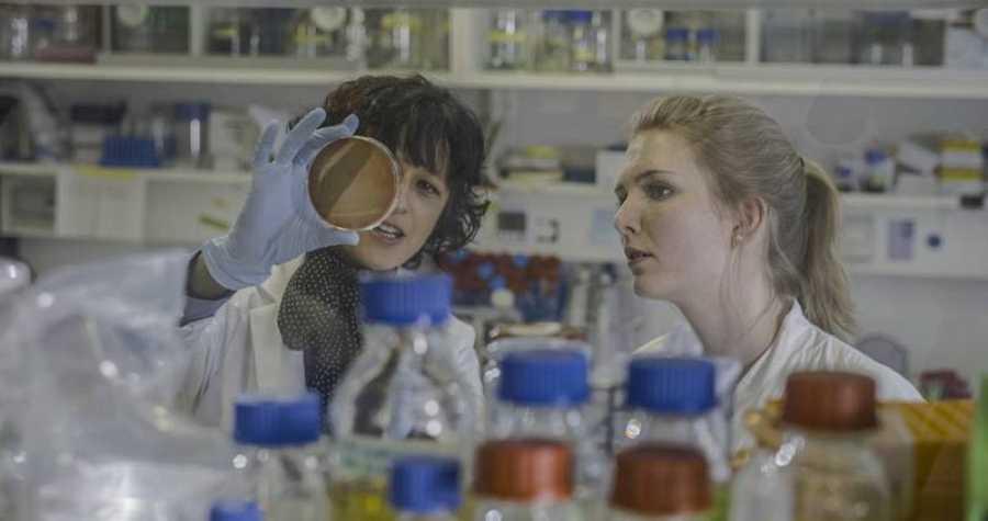 En el laboratorio de Emmanuelle Charpentier