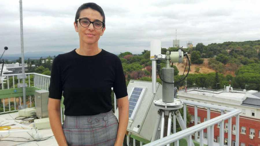 La investigadora de la AEMET Omaira García es la responsable del proyecto