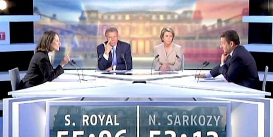 En un dbate televisado, a meudo dice más la expresión de nuestro rostro que nuestro mensaje verbal