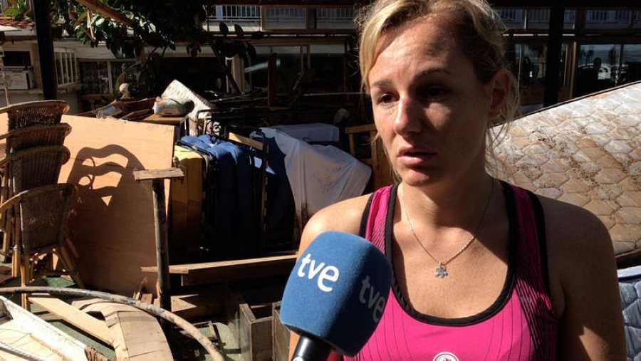Susana de Juan, propietaria del Hotel Playa Morera de S'Illot, en Mallorca