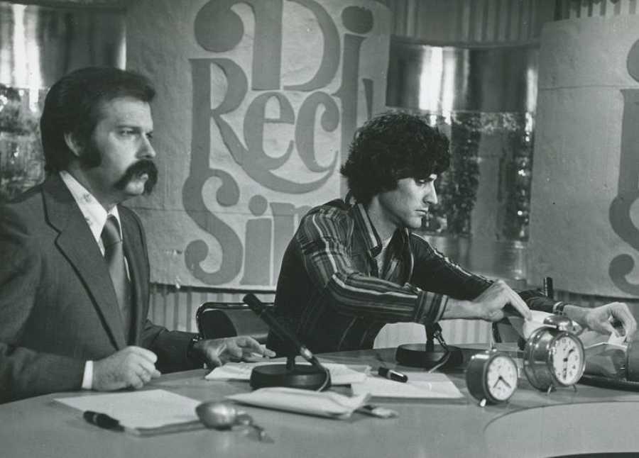 José María Íñigo presentó 'Directísimo' desde el Estudio 1