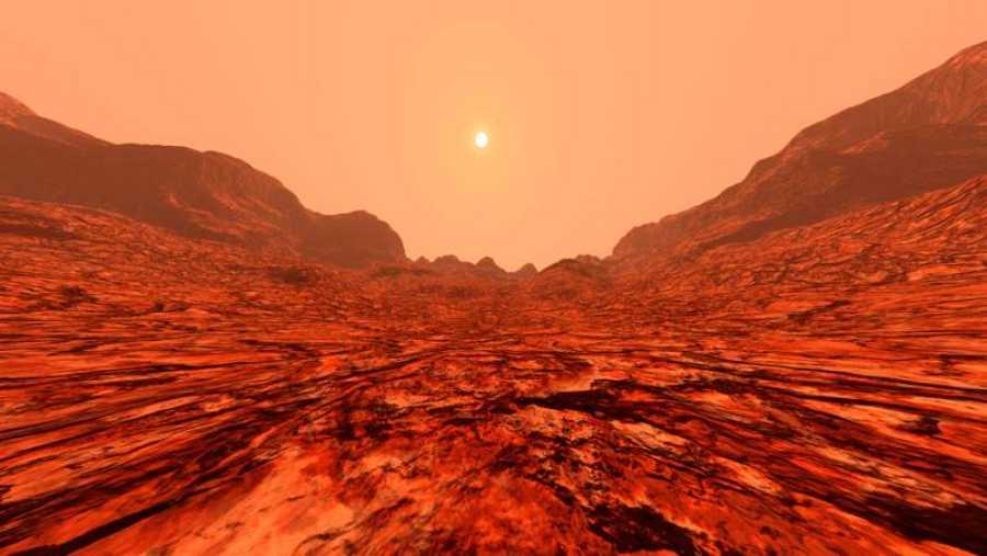 Hasta ahora, se pensaba que en el Planeta Rojo no había ningún ecosistema