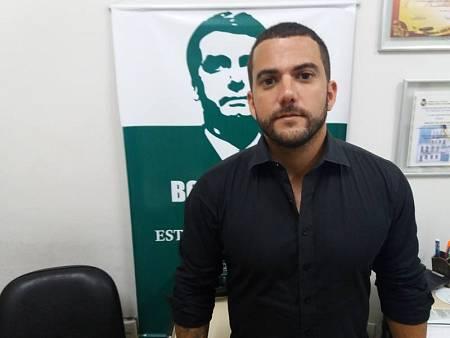 Carlos Jordy, simpatizante de Jair Bolsonaro