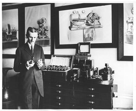 El gran inventor Nikola Tesla