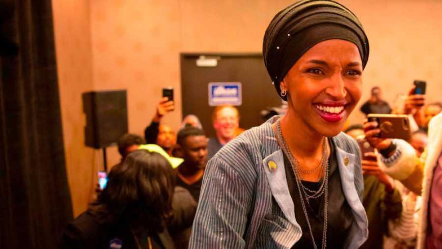 Ilhan Omar, candidata demócrata de Minnesota