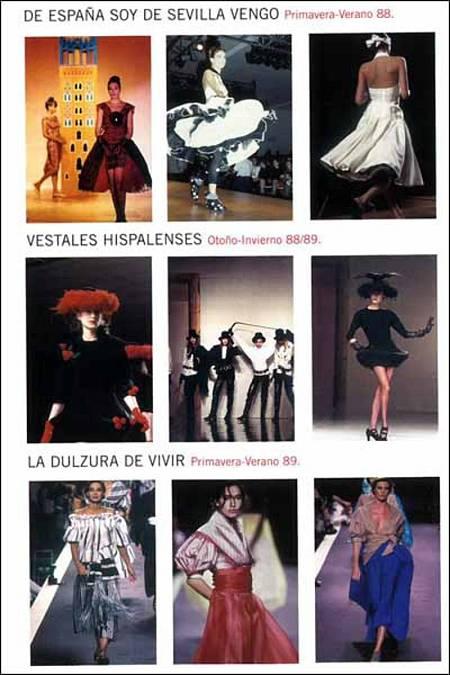 0624b3757 Colecciones de Victorio Lucchino de 1988.