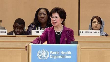 Margaret Chan, directora general OMS 2007-2017