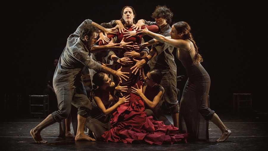 Una de las mayores inquietudes de María Pagés está en la construcción de la dramaturgia de la obra.