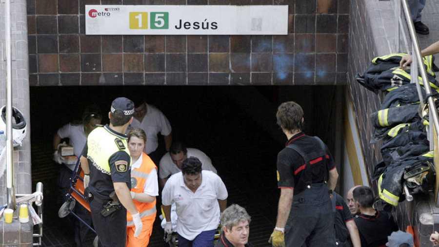 El tres de julio de 2006 perdieron la vida 43 personas en el accidente del Metro de Valencia