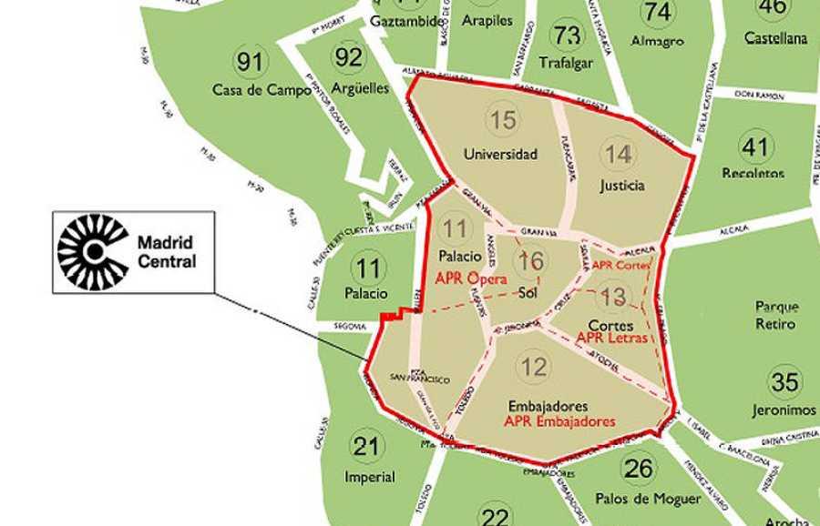 Restricciones Tráfico Madrid Mapa.Madrid Central Todo Lo Que Debes Saber Sobre Las