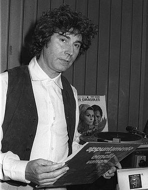 Jesús Quintero en un retrato de 1983.