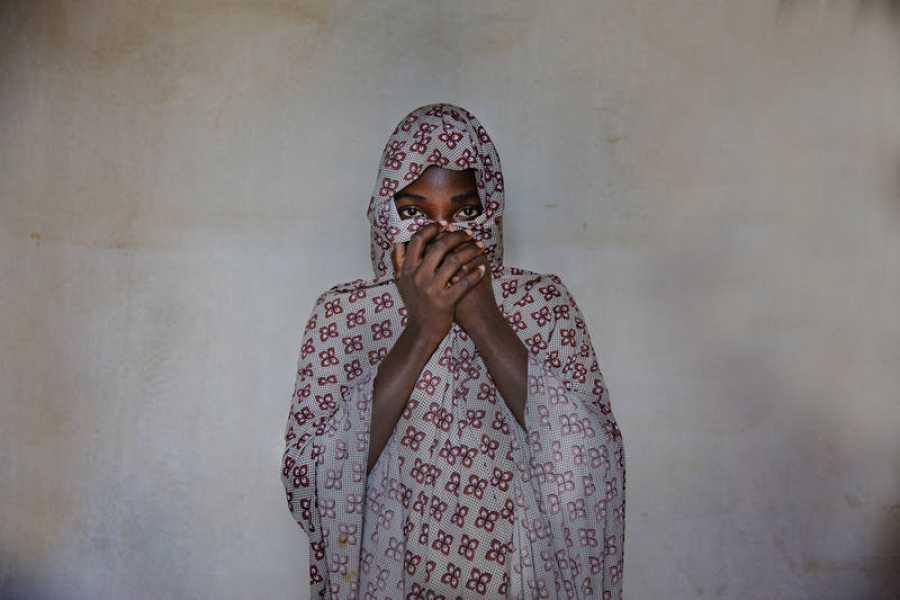 Hindatou estuvo secuestrada durante meses en Nigeria