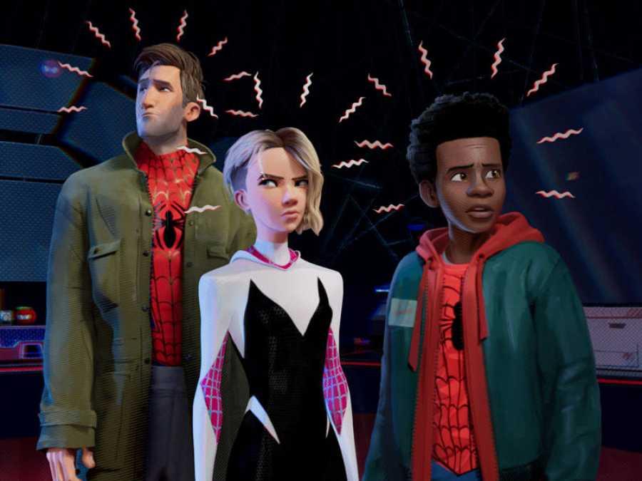 Seis Spider-Man revolucionan el cine de animación de superhéroes ... d2460eaac67c