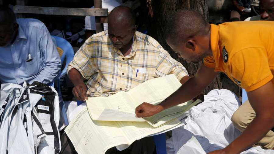 Recuento electoral en la República Democrática del Congo