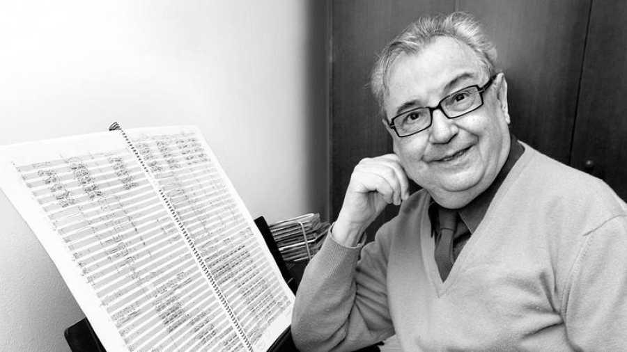 El compositor, director y pianista Joan Guinjoan