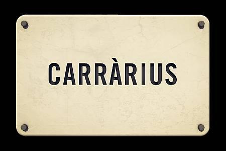 Logo del programa 'Carràrius'