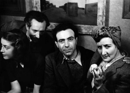 Baltasar Loco con Chochola, Condo y su mujer Mercedes