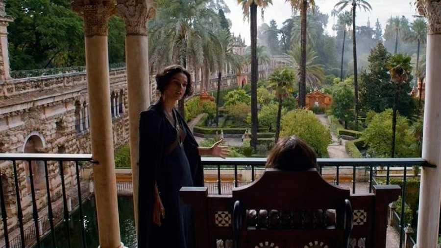 Rodaje de Juego de Tronos en los Reales Alcázares de Sevilla