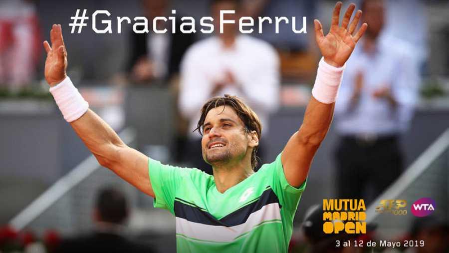 El Madrid Open homenajea a Ferrer