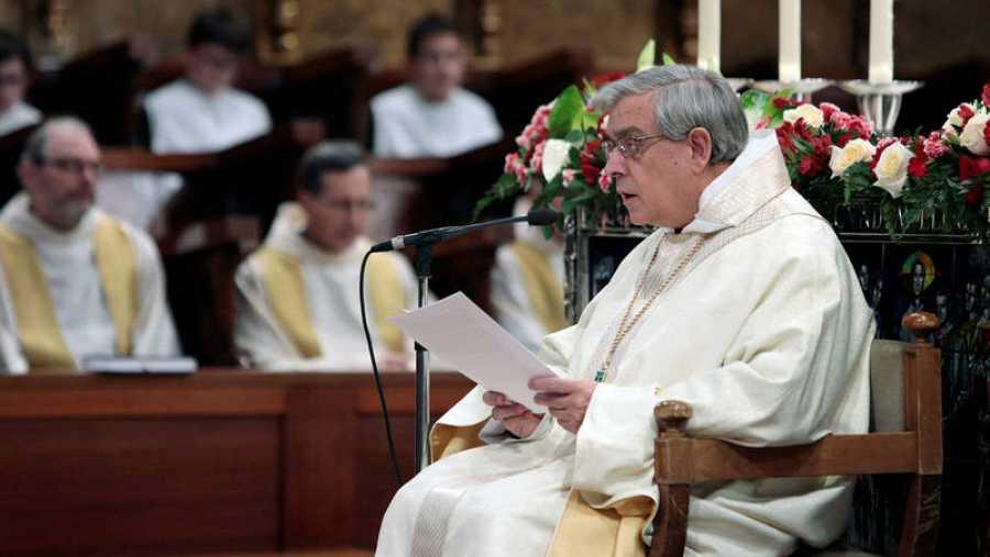El abad de Montserrat pide perdón por los abusos sexuales en su homilía