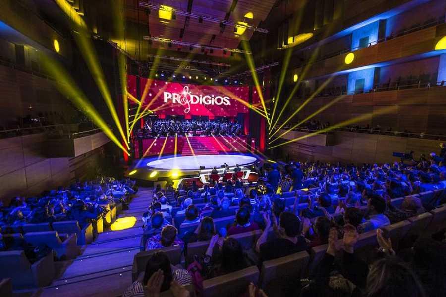 El Auditorio Miguel Delibes de Valladolid acoge la grabación, con música en directo de la Orquesta Sinfónica de Castilla y León