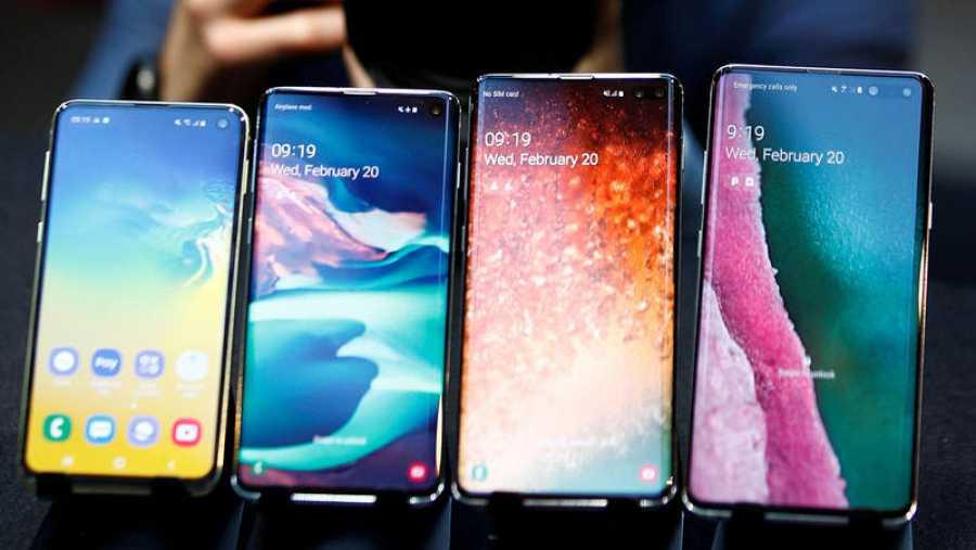 Los nuevos Galaxy S10 presentados por Samsung: S10e, S10, S10+ y S10 5G.