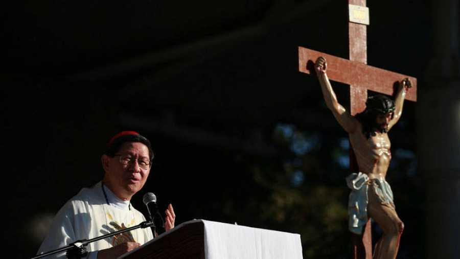 Luis Antonio Tagle, cardenal arzobispo de Manila y presidente de Caritas Internationalis