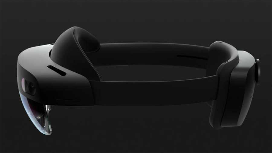 Las HoloLens 2 están construidas en fibra de carbono, lo que aligera considerablemente su peso.