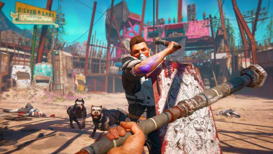 Un momento de acción de 'Far Cry: New Dawn'