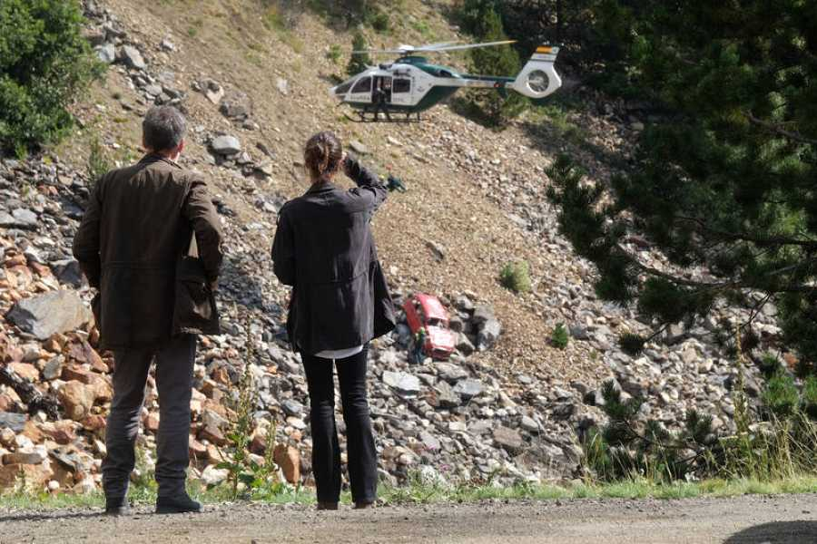La seire se ha grabado en exteriores naturales en Huesca