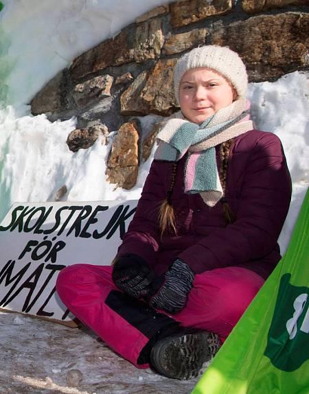 Imagen de archivo de la activista Greta Thunberg.