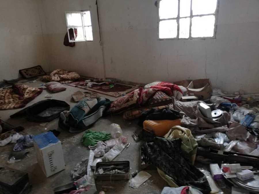 Los terroristas del Daesh se repliegan en Baguz y abandonan sus pertenencias