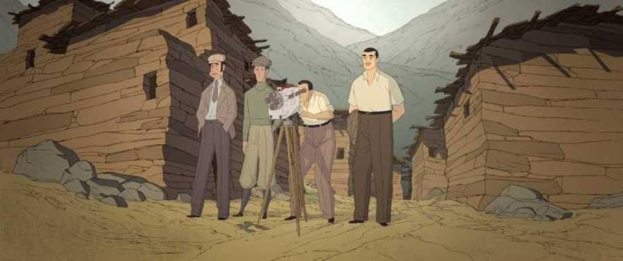 Fotograma de 'Buñuel en el laberinto de las tortugas'