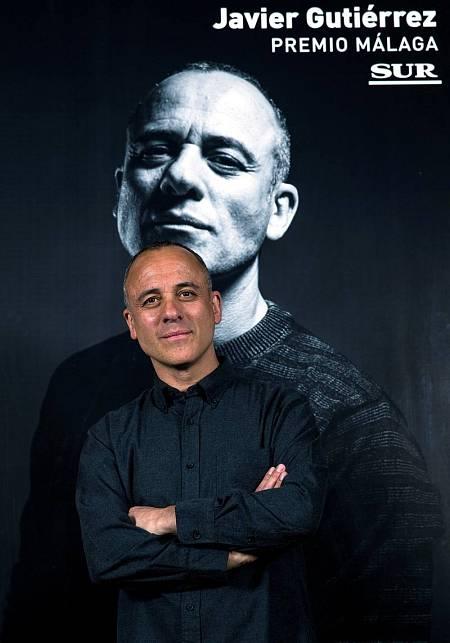 Javier Gutiérrez recibe el Premio Málaga del 22 Festival de Cine